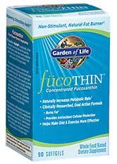 FucoTHIN es una píldora para quemar grasa fabricada por Garden of Life.