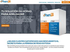 Phen24 está disponible exclusivamente en el sitio web oficial