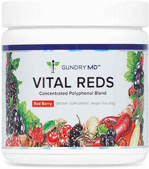 Pautas de uso de Vital Reds