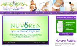 ¿Cuáles son los ingredientes de Nuvoryn?
